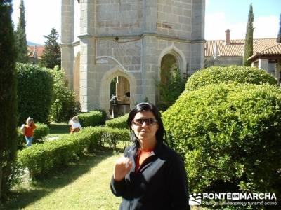 Monasterio de Santa María de El Paular; senderismo viajes; agencias de senderismo madrid